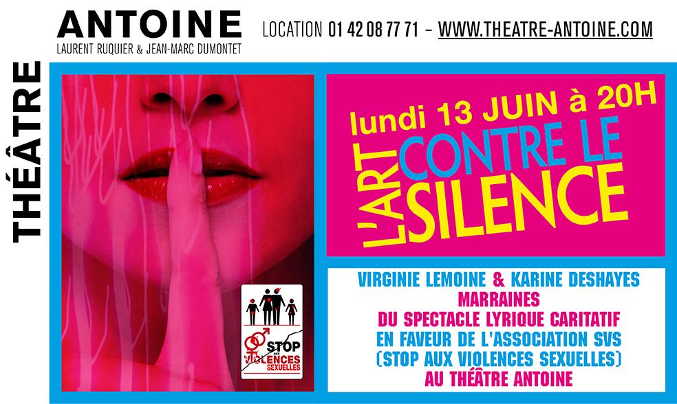 Théâtre Antoine - Les Chatouilles - 13 juin 2016